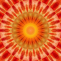 Mandala Sonnenuntergang von Christine Bässler