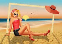 Urlaubsgrüße aus den 50er Jahren von Monika Juengling