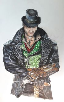 Assassin's Creed Syndicate - Jacob Frye__ #pencilpaint  by Jakob Hiltl