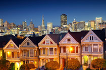Painted Ladies am Alamo Square by Rainer Grosskopf