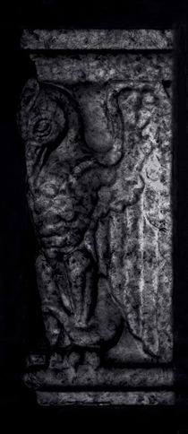 Stone Gargoyle Profile - Right von James Aiken