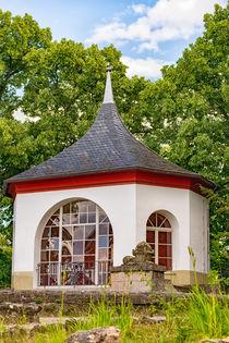 Pavillon Bergfried Saalfeld ganz nah von mnfotografie