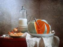 Milch und Kürbis von Nikolay Panov