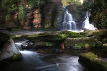 'Penllergare Waterfalls' von Leighton Collins