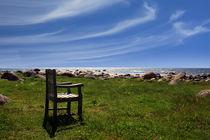 Stuhl am Meer von eksfotos