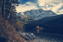 [:] Zugspitze and lake Eibsee [:]