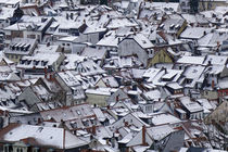 snow covered roofs by alphashooter