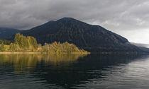 Licht und Schatten am Walchensee von Rene Müller