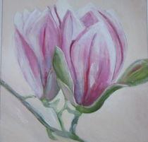 Magnolienblüte,  von rita-markgraefe