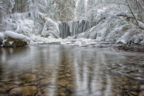 Kleiner Wasserfall von Holger Schultz