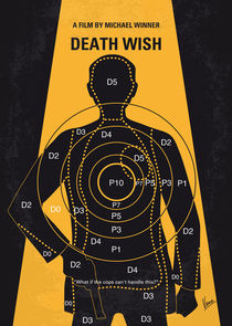 No740 My Death Wish minimal movie poster von chungkong