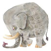Sad Elephant von Jonas Anderson