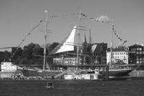 """Sailing boat / Segelboot """"Rickmer Rickmers Hamburg"""" 2016 in Hamburg, Hafengeburtstag by Simone Marsig"""