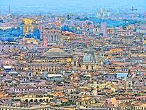 Rome Cityscape von GabeZ Art