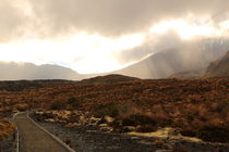 Tongariro Crossing am Morgen by dm88