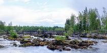 Die Brücke über den Oreälven von Thomas Matzl