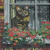 in the window von Paula Bettam