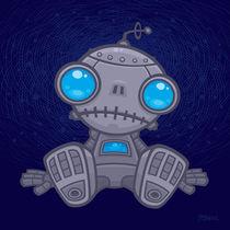 Sad Robot von John Schwegel