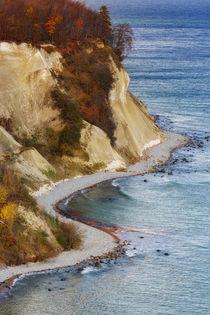 herbstliche Kreideküste von moqui