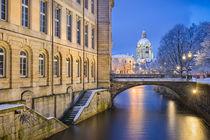 Winter in Hannover von Michael Abid