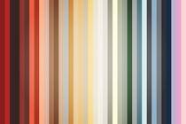 Art Deco Color Palette Of 1940 von Radu Bercan