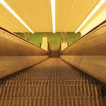 Maastunnel Rotterdam by Irene Hoekstra