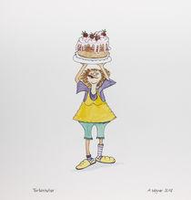 Tortenheber by Angelika Wegner