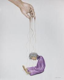 Fließende Hand von Angelika Wegner