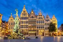 Grote Markt in Antwerp by Michael Abid