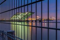 Zaun Dockland von photobiahamburg