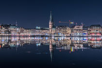 Binnen Alster Hamburg by Michael  Beith