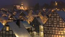 Alter Flecken im Winter by Klaus Tetzner