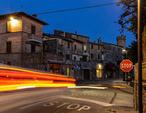 Montalcino at Night by Renato  van Ray