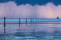 Gewitter über der  Nordsee von Britta Hilpert