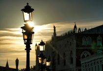 Abendstimmung in Venedig von Bruno Schmidiger