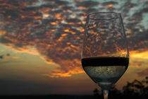 Sunset and white wine von stephiii