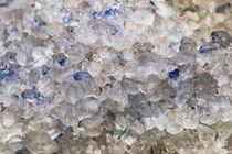 Persische Blausalzkristalle by Dieter  Meyer