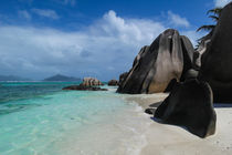 Anse Source d'Argent - beach on seychelles island  by stephiii