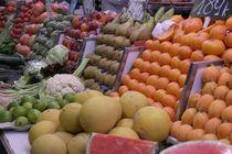 Fruits  at La Boqueria in Barcelona by stephiii