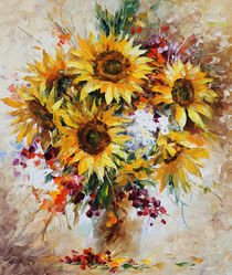 Sunflowers of Jerusalem von Minocom Art Gallery