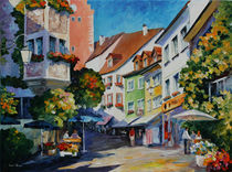 Meersburg Germany von Minocom Art Gallery