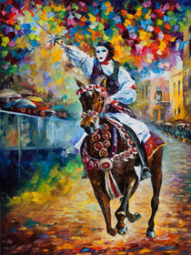 Masked Horseman von Minocom Art Gallery