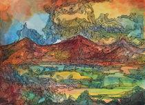 Montanhas 2 von Minocom Art Gallery