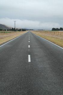 Gerade Straße - Neuseeland by stephiii