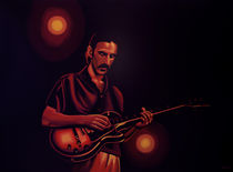 Frank Zappa Painting by Paul Meijering