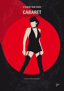 No742 My Cabaret minimal movie poster by chungkong
