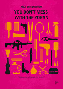 No743 My You Dont Mess with the Zohan minimal movie poster by chungkong