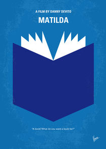 No291 My Matilda minimal movie poster von chungkong