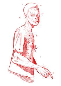 Sketch of zombie von Juan Paolo Novelli