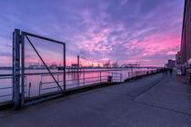 Abend Hafenkante von photobiahamburg